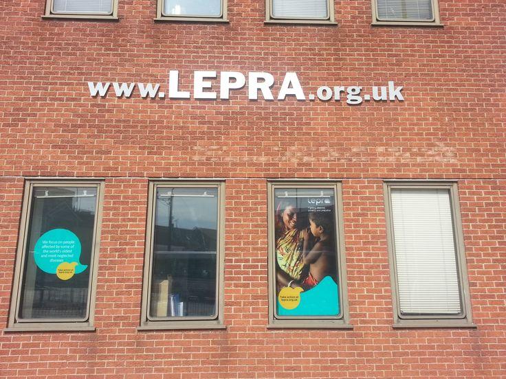 New windows at Lepra!
