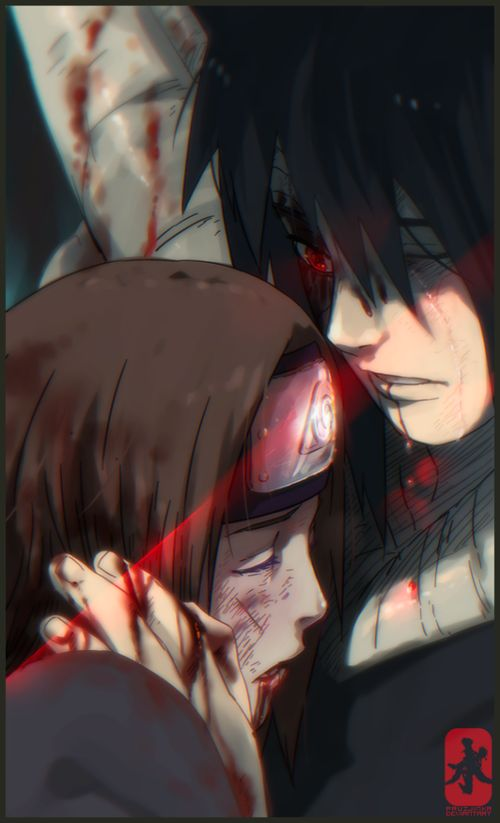 Obito and Rin. No much needs to be said for this picture, except that its' firkin awesome