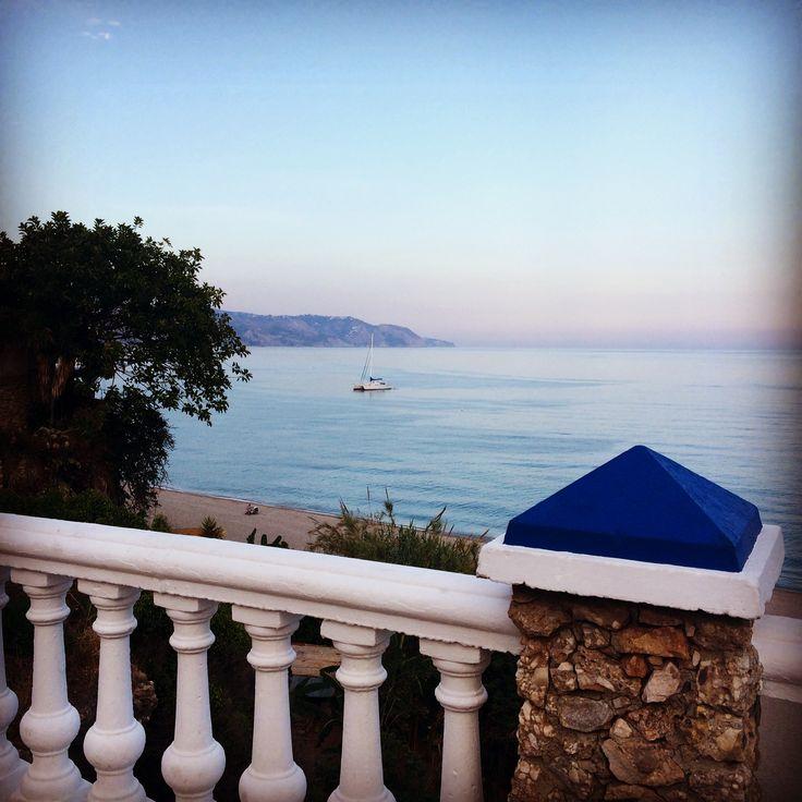 Mirador al mar Mediterráneo. Nerja - Málaga