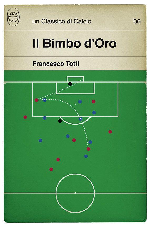 Roma goal v Sampdoria Francesco Totti Poster Il Bimbo