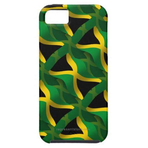 Jamaica Waving Flag iPhone 5 Covers