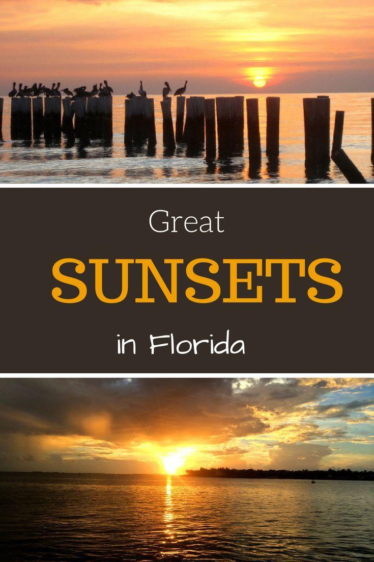 Der Sunshine State ist mehr als nur eine Reise wert. Ich bin ganz verliebt in Florida und könnte jedes Jahr diesen wunderschönen US-Bundesstaat besuchen.  Tolle Sonnenuntergänge findest du hier auch zur Genüge. Ob in Naples direkt am Pier oder in Key West