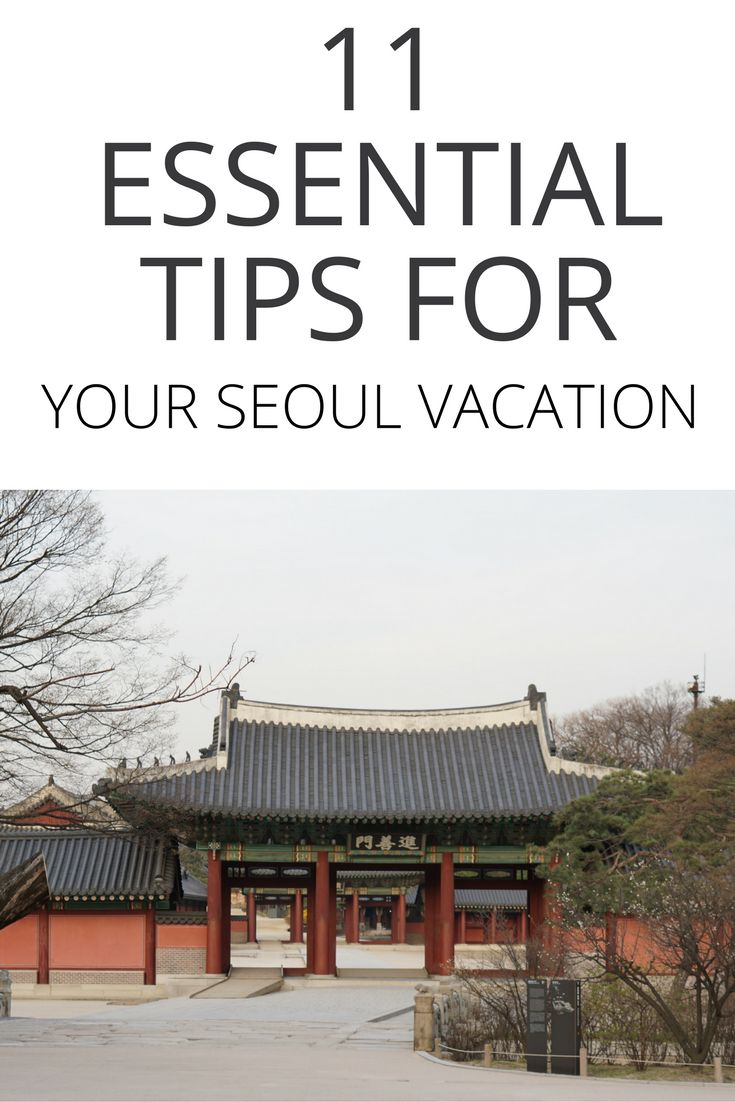Is Seoul on your bucket list? Here are some practical and useful tips for Seoul that you need to read! Click on this post for advice and suggestions on what you'll want to know before visiting Seoul.