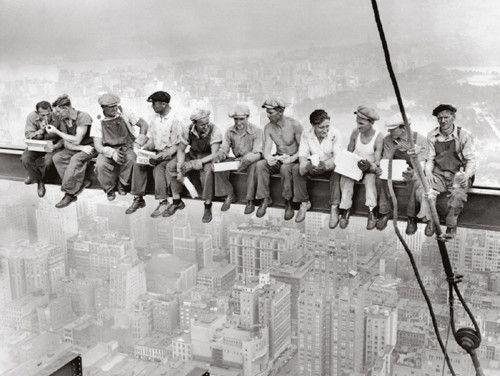 Rockefeller Center, 1932 Bettmann Archive Fine Art Print Poster