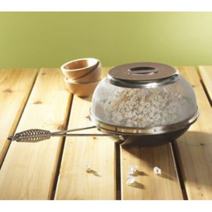 Nordic Ware 36536 Camp Fire and Stove Top Popcorn Popper - 36536