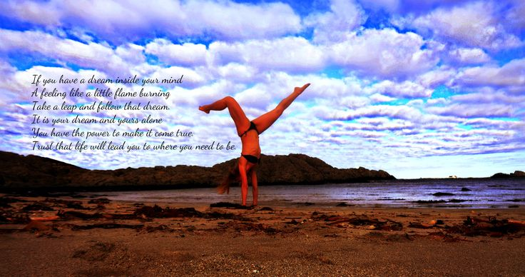 My Beach Yoga <3  -Follow your dream You are the only one who can make it come true <3 - . #Love #Blessings