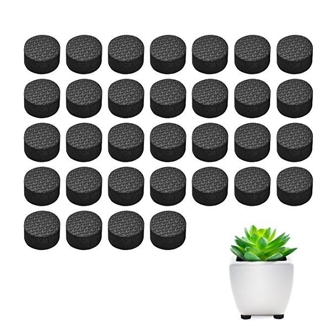 Pot Feet Basenor Invisible Flower Pot Risers Anti Skin Furniture Pads With Strong Adhesive For Plant Pots 32 Pack Skin Furniture Furniture Pads Flower Pots