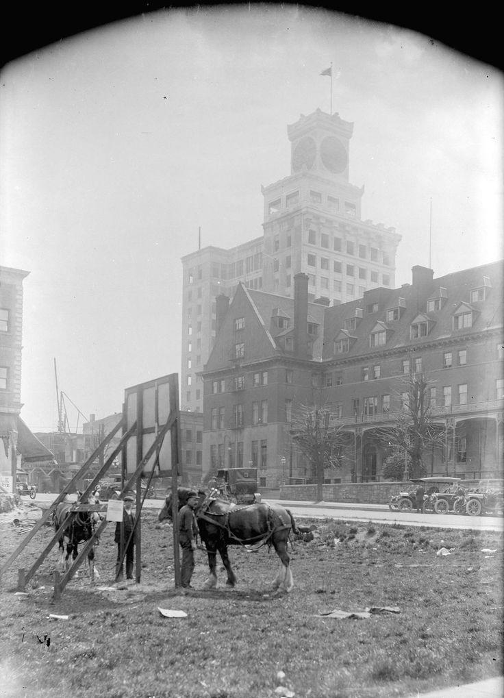 Granville Street near Georgia, 1912