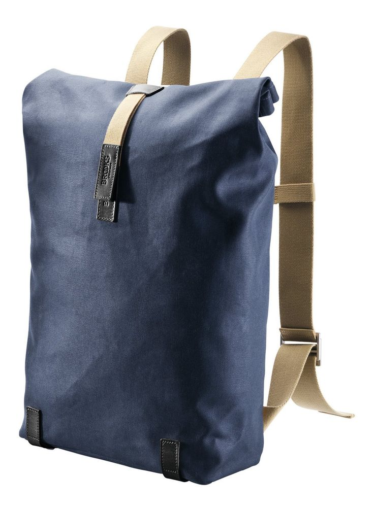 Oppdatert utgave av Brooks Englands mest populære ryggsekk, designet av André Klauser i London og laget av håndverkere i Toscana. Lav profil, slitesterke materi