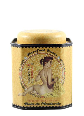 New Mustard Bath Tin....all the same wonderful therapeutic properties.
