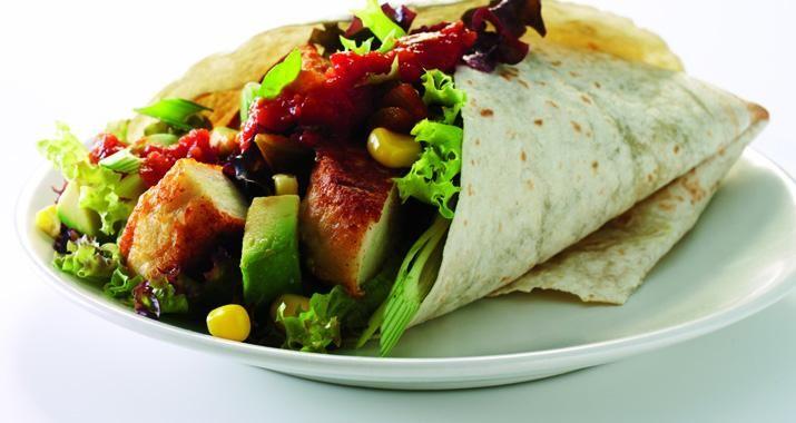 Wraps med fisk | Opskrift på mexicanske wraps med fisk - Tortillas