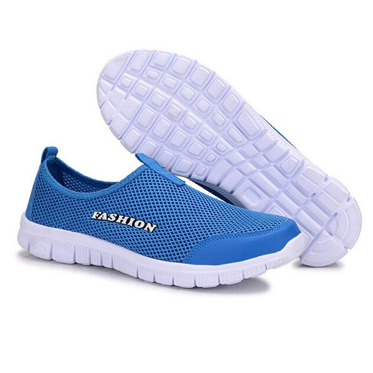 2014 summer running shoes male sport lazy network shoes men foot wrapping breathable shoes
