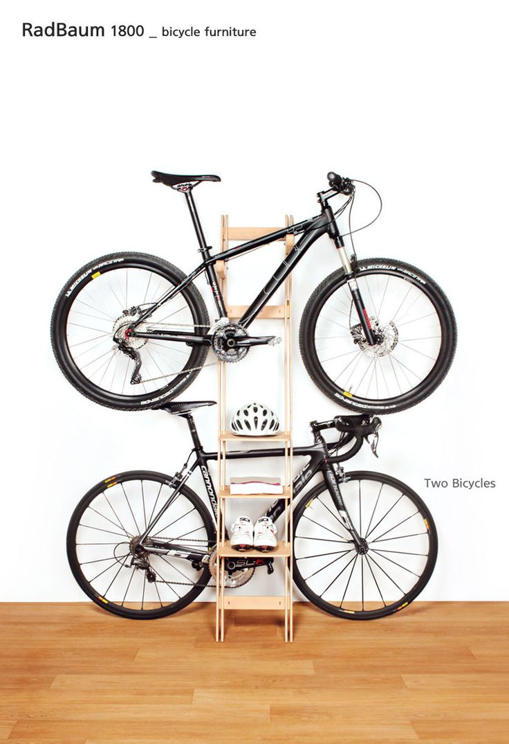 Bicycle Furniture Radbaum Is A Stylish Piece Of Furniture Suggesting Creative Way To