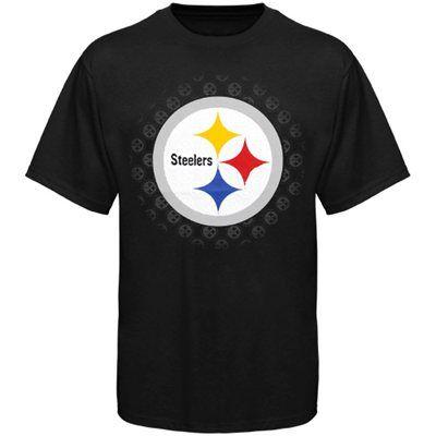 Pittsburgh Steelers Depth Chart T-Shirt - Black