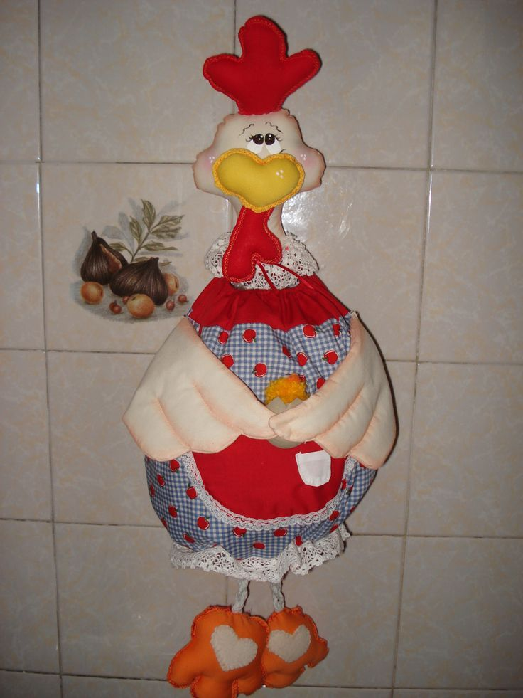1764 best gallinas images on pinterest jelly rolls - Manualidades de tela ...