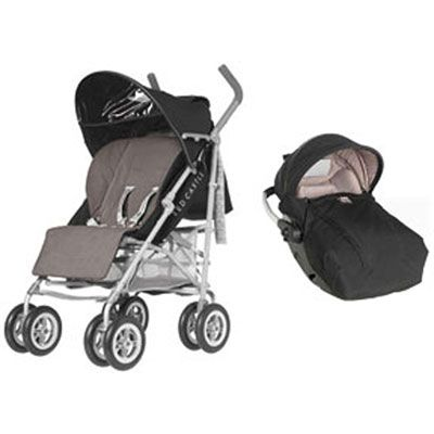 Ensemble Red castle Poussette duo luxos rc2 noir / taupe 669€