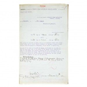 Titanic insurance document sells at auction