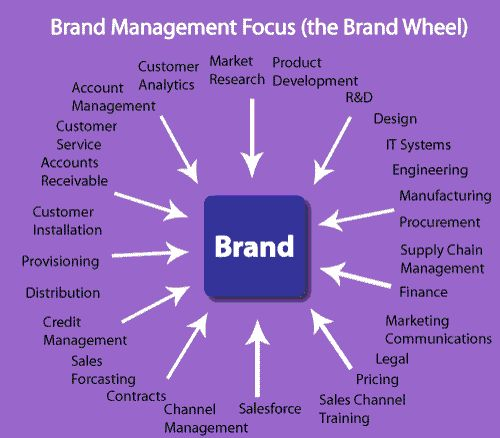 Brand Management Focus (the Brand Wheel)