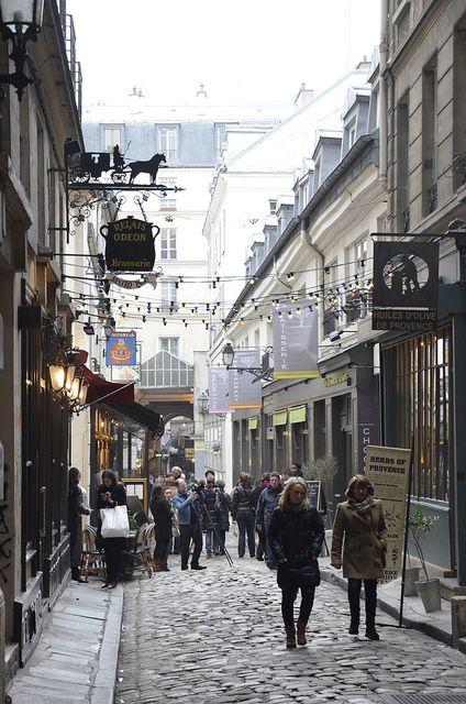 The alleys of Saint Germain des Pres, Paris