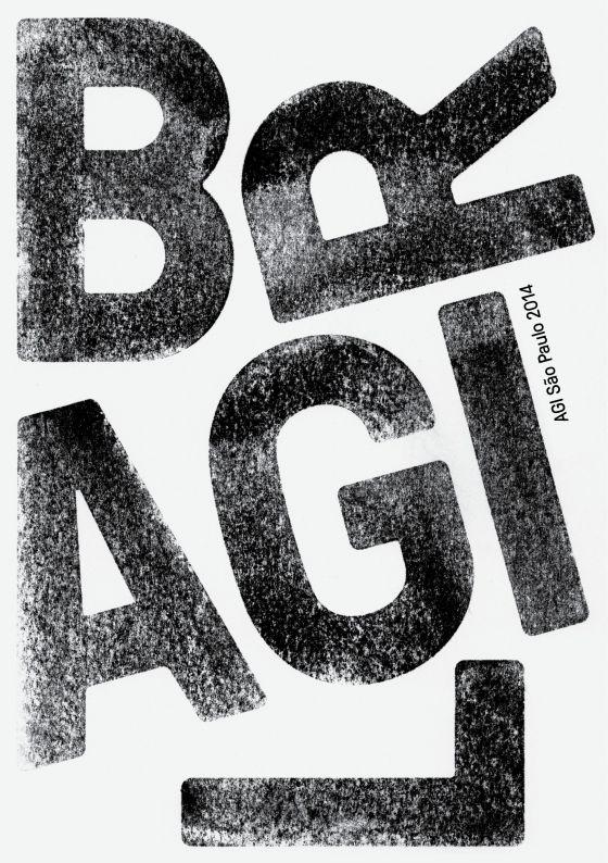 Erich Brechbühl - AGI International Posters Exhibition 2014