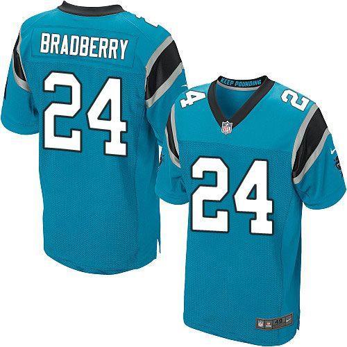 $24.99 Men's Nike Carolina Panthers #24 James Bradberry Elite Blue Alternate NFL Jersey
