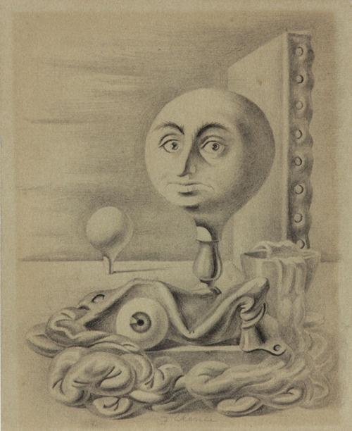 Fabrizio Clerici L'occhio barocco 1954