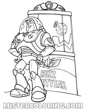 Toy Story Coloring Page For Kids Mister Coloring Toy Story Coloring Pages Coloring Books Disney Coloring Pages