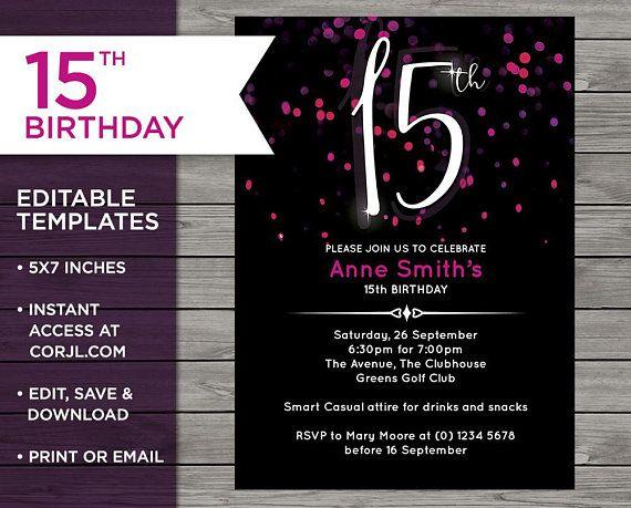 editable invitations invitation template