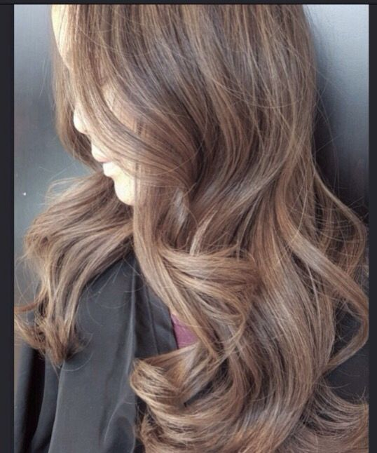 Light ash brown! Colorist@dvcolour #asbrown #lightbrown #hairpaint #balayage #sandybrown