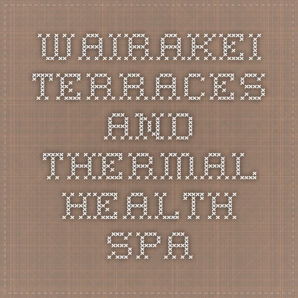 Wairakei Terraces and Thermal Health Spa