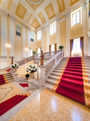 The Central Staircase - Villa Passalacqua   Moltrasio #lakecomoville