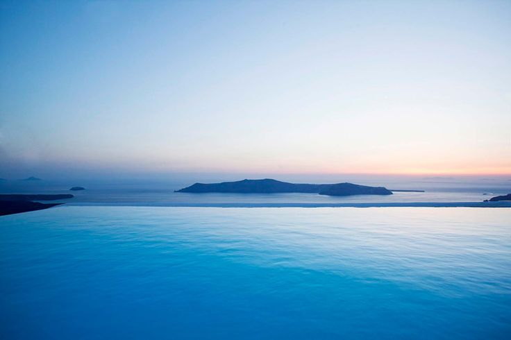 Infinity Pool , Sky Mirror , La Maltese Estate Santorini