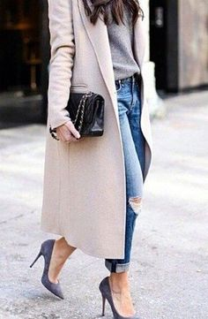 A great coat goes with any outfit.