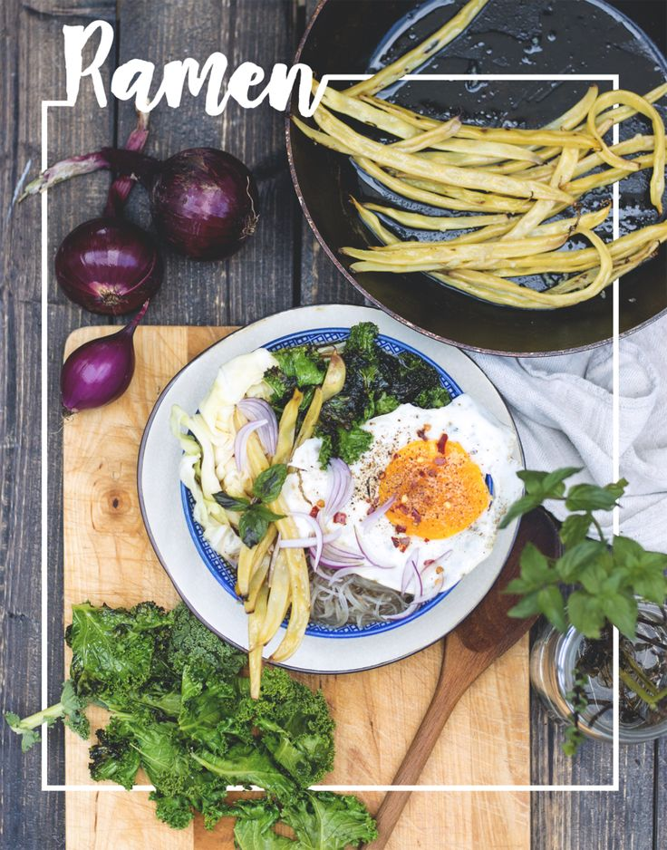 Vegetarian Ramen Recipe - Happy Healthy Hunters