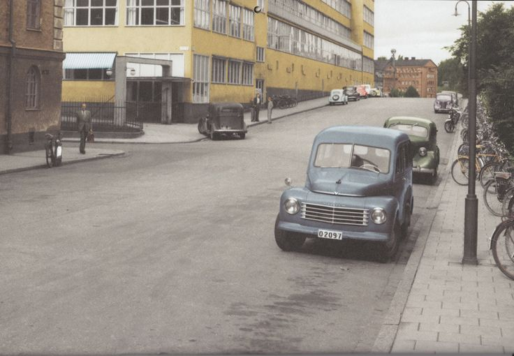 Kungsholmen, Stockholm 1954 - a good time document, which belongs to the uncommon.