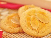 Resep Almond Cookies