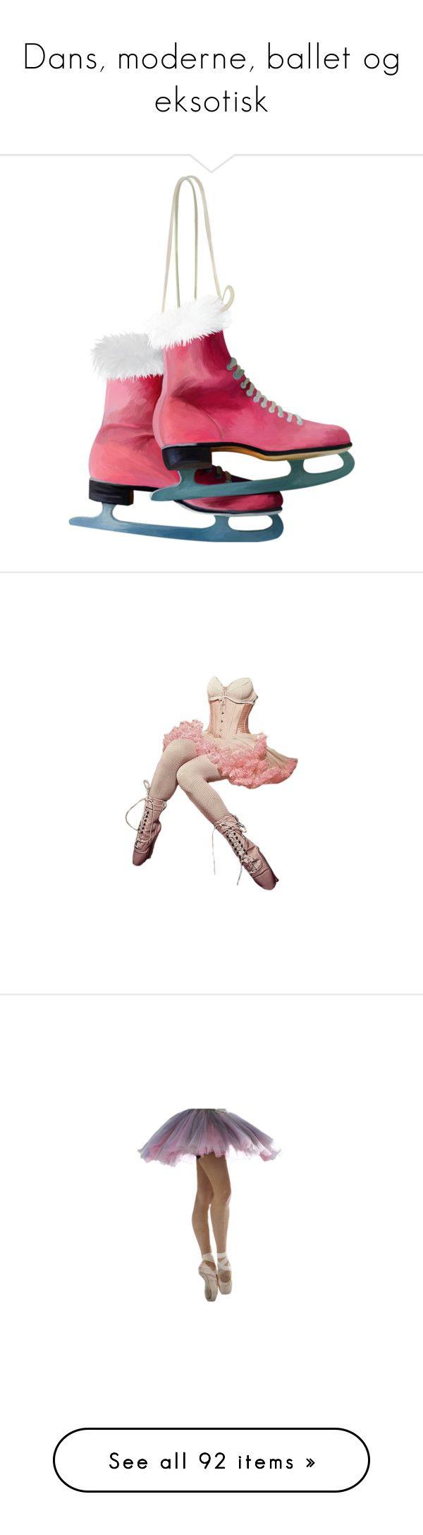 """""""Dans, moderne, ballet og eksotisk"""" by louvillia ❤ liked on Polyvore featuring dolls, people, children, dance, other, christmas, winter, ballet, quotes and filler"""
