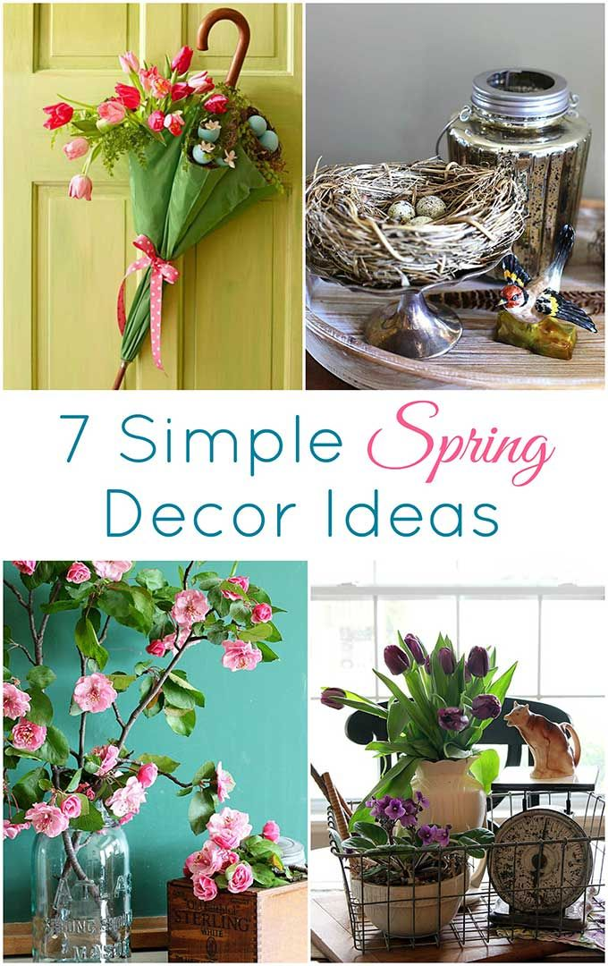 7 Simple Ways To Add Spring To Your Home Decor Easy Spring