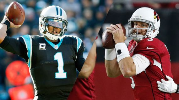 The Panthers and Cardinals will make the Playoffs