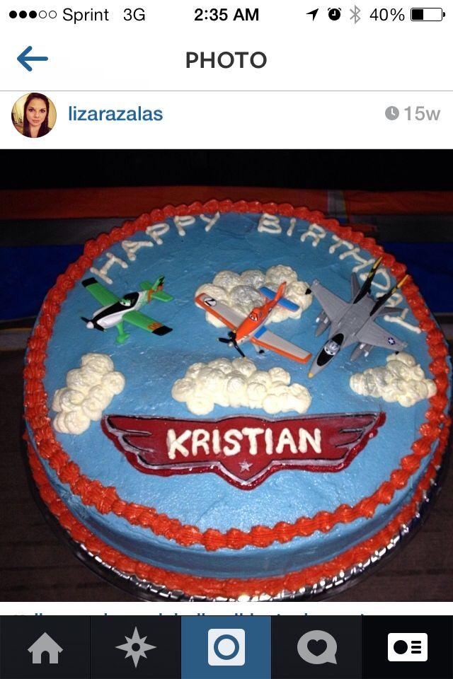 Disney's Planes birthday cake