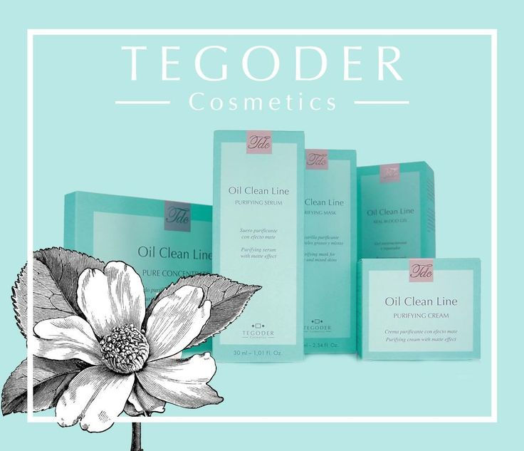 Tegoder Cosmetics - Oil Clean Line ||| by: Fruzsina Csaba
