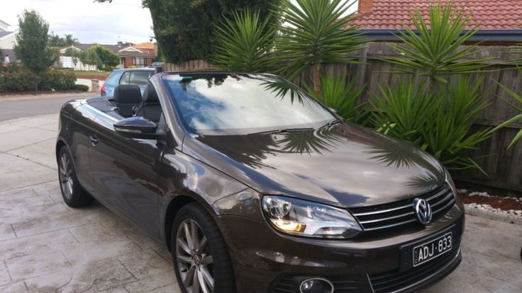 2014  Volkswagen convertible EOS still under Factory warranty! Taylors Lakes Brimbank Area image 2
