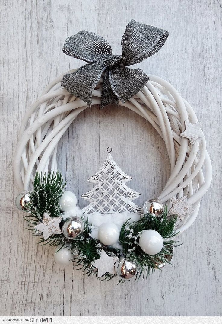846 Best Christmas Wreaths Images On Pinterest