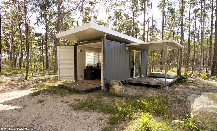 A simple, self-sustaining backyard granny flat with a 20 foot kitchen and…