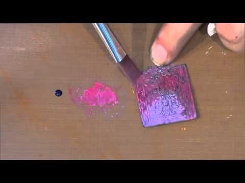 Vintaj Patina Tutorial    Vintaj Patinas are opaque inks specially formulated by Ranger to adhere to metal and create beautiful, durable patina effects. Available in a palette of 15 hues, they can be blended and layered for endless results. Sold in sets of three
