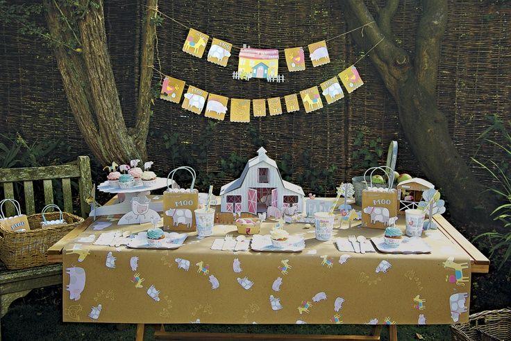 Oltre 25 fantastiche idee su compleanno tema fattoria su for Casa in stile fattoria