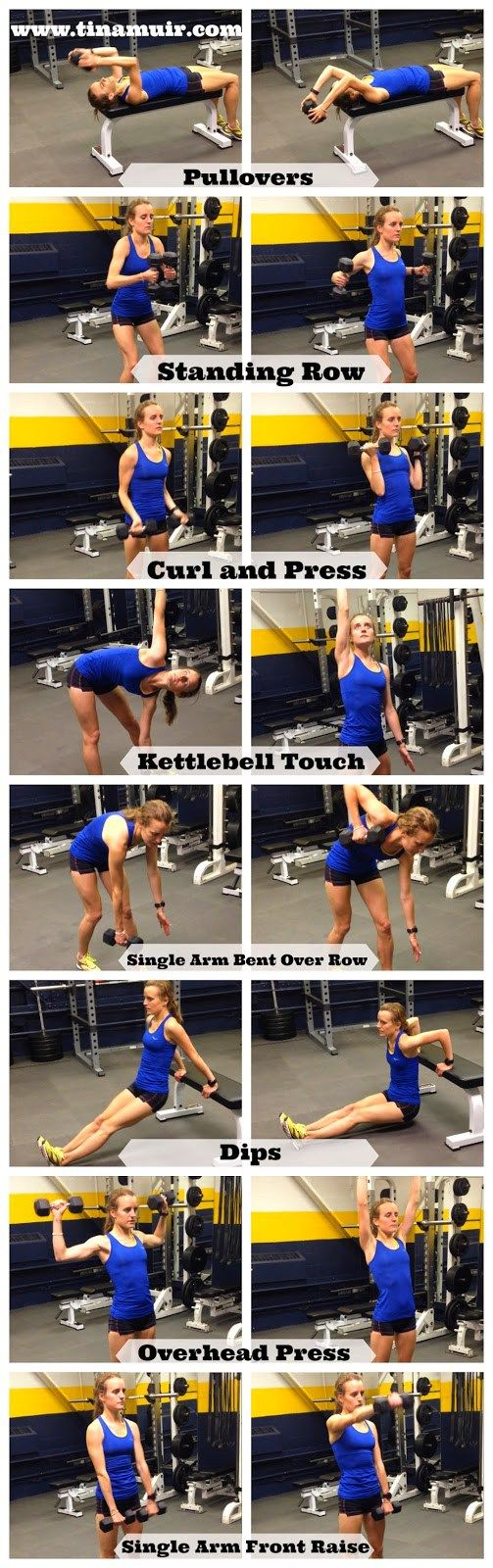 Secrets to Success: Arm Strengthening Exercises | Fuel Your Future with Tina Muir