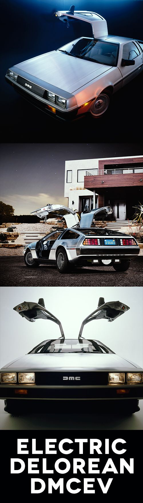 f you're a fan of Back to the Future you'll know that you're looking at a DeLorean, quite possibly one of the most iconic vehicles of the 20th century (and quite a few other centuries for that matter). But this isn't just any DeLorean, it's an electric DeLorean. Great Scott!  Its AC induction liquid-cooled electric motor packs enough oomph (260 horsepower to be precise) to make Doc Brown's hair turn white and stand on end.