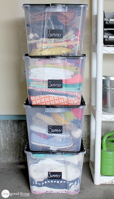 All sorts of great garage organization tips in one place!