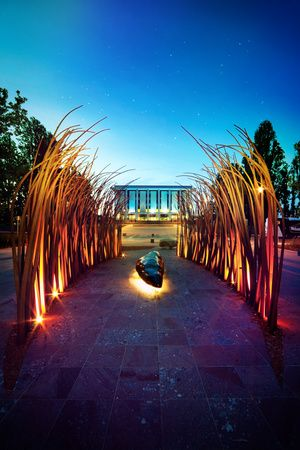 National Library of Australia - Canberra -- A wonderful place and delightful to work in!